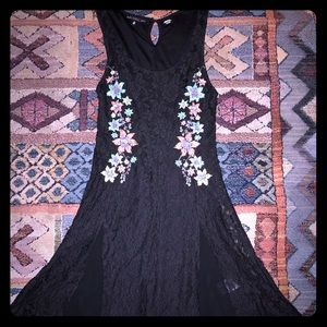 Women's Miss Me Couture Black Dress, Size Small